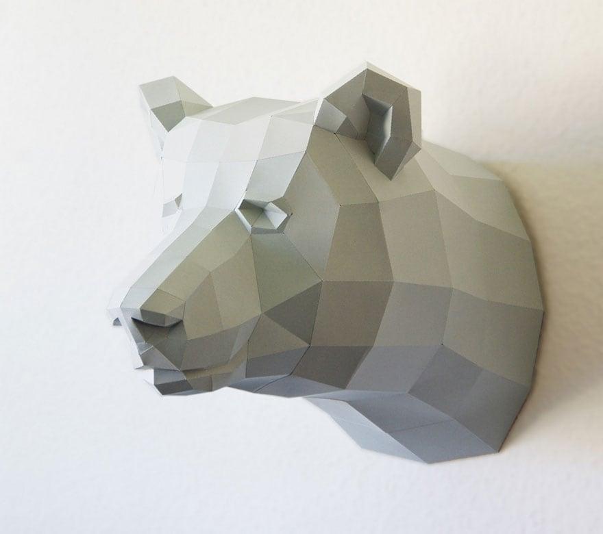 Wolfram-Kampffmeyer-DIY-Paper-Animal-Sculptures-12