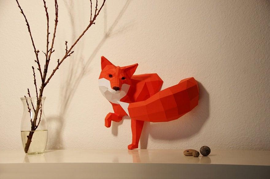 Wolfram-Kampffmeyer-DIY-Paper-Animal-Sculptures-13