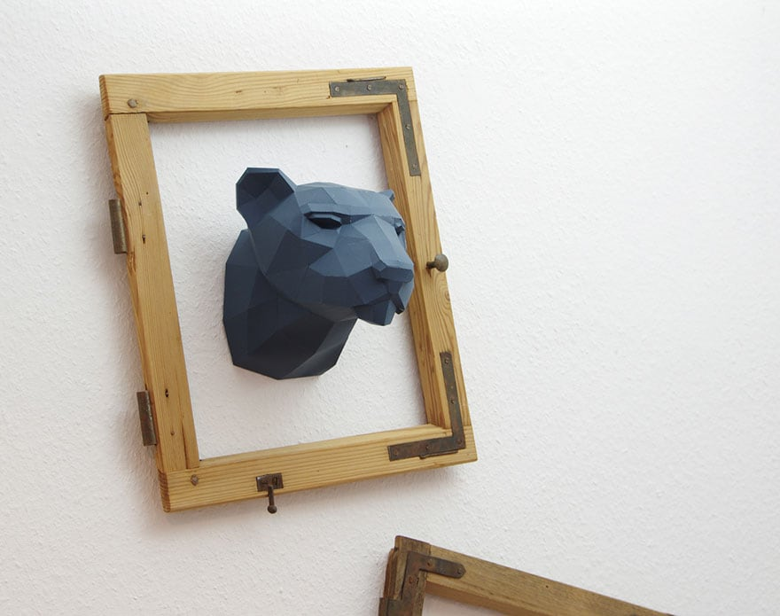 Wolfram-Kampffmeyer-DIY-Paper-Animal-Sculptures-2