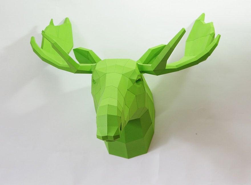 Wolfram-Kampffmeyer-DIY-Paper-Animal-Sculptures-5