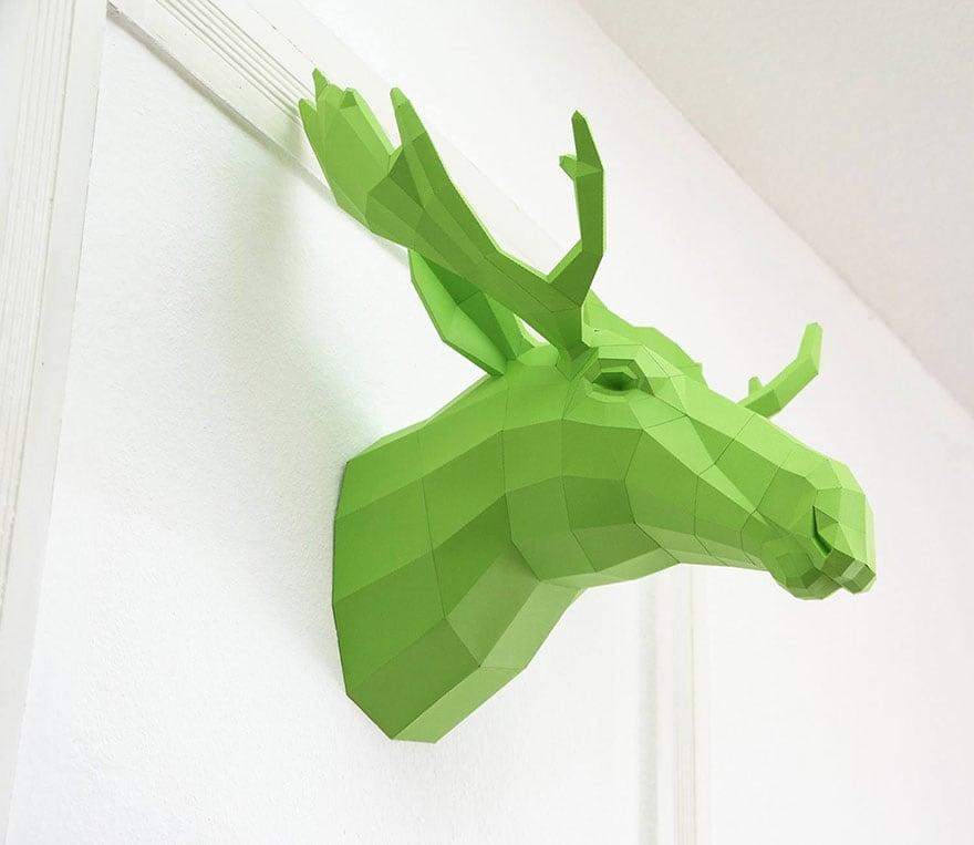 Wolfram-Kampffmeyer-DIY-Paper-Animal-Sculptures-8