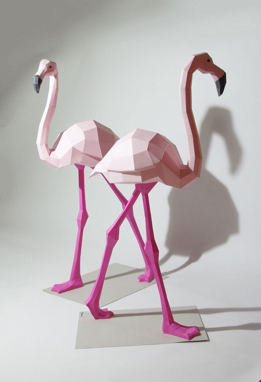 Wolfram-Kampffmeyer-DIY-Paper-Animal-Sculptures-9