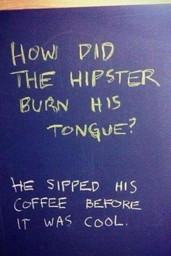hipster humor