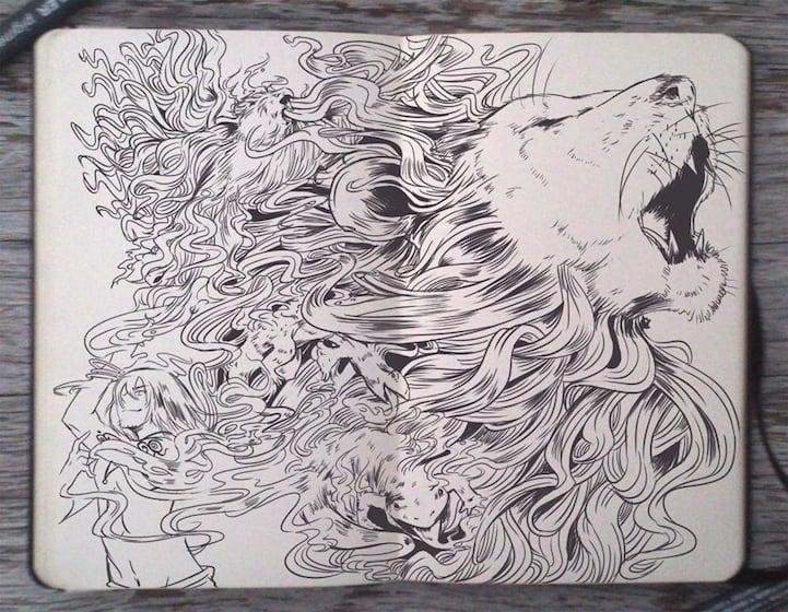 Moleskine-Art-by-Gabriel-Picolo-9