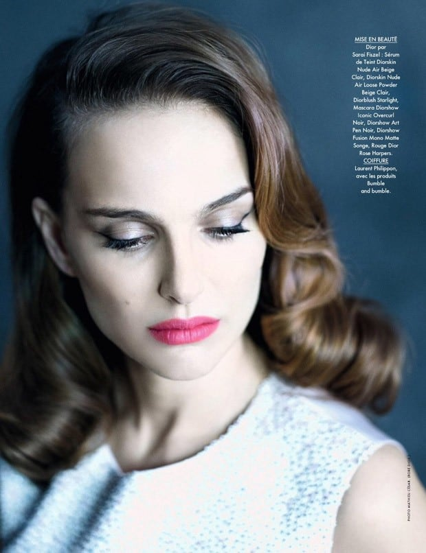 Natalie Portman For Elle France By Mathieu Cesar 3