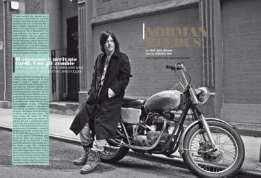 Norman Reedus for L'Uomo Vogue by Eric Guillemain 1