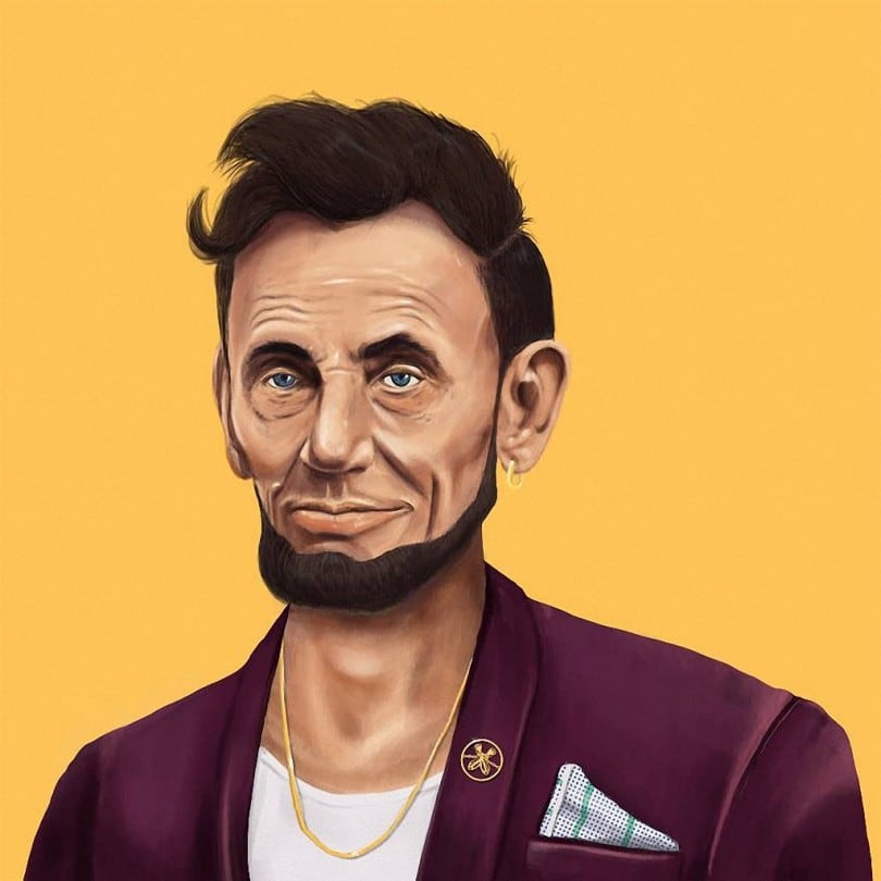 World's Greatest Leaders as Hipsters by Amit Shimoni 6