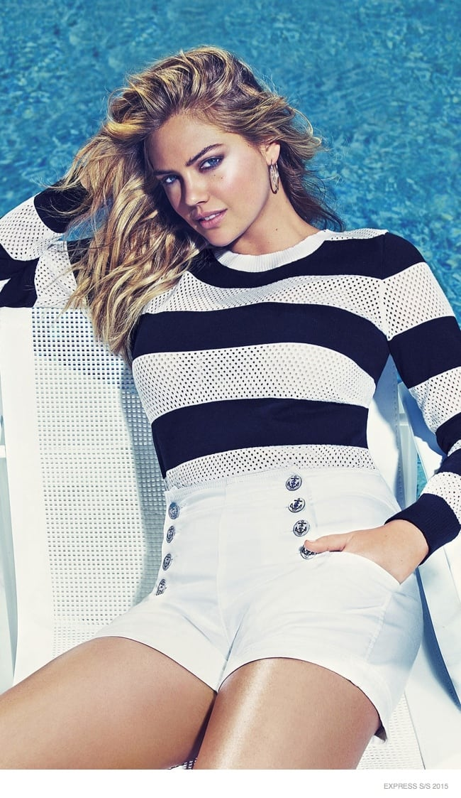 Kate Upton for Express' 2015 Spring Ad Campaign 4
