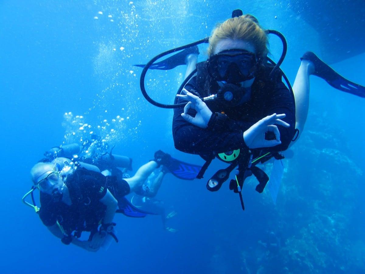 scuba diving Koh Tao Island