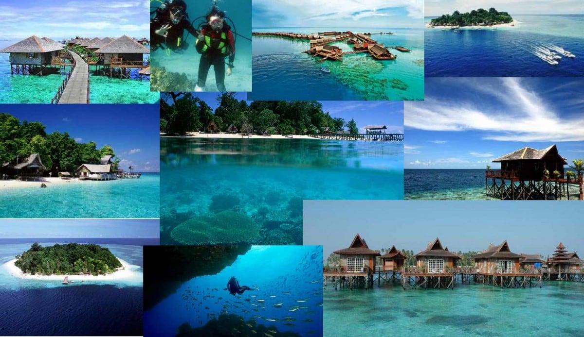 scuba diving in Sipadan