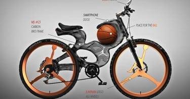 Michael Jordan Inspired Concept Bicycle 4