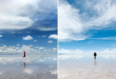 Bolivian Salt Flat Creates Huge Mirror Of The World 7
