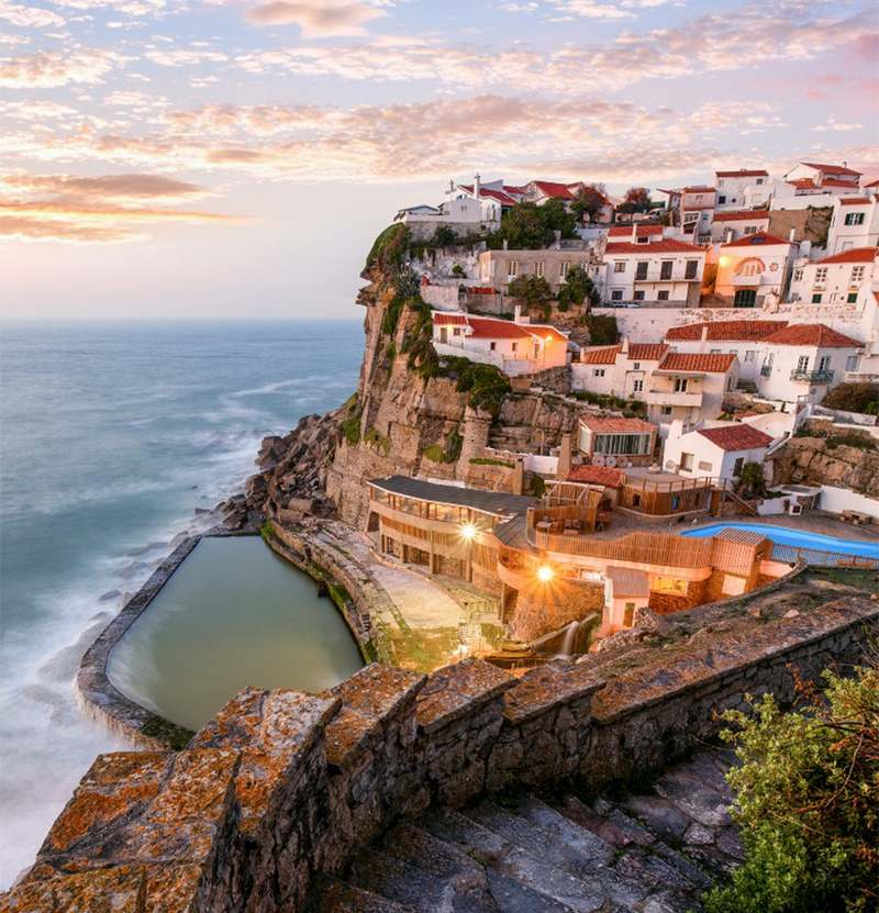 Azenhas Do Mar Sintra Portugal Top 15 Most Stunning Cliff Side Towns And Villages