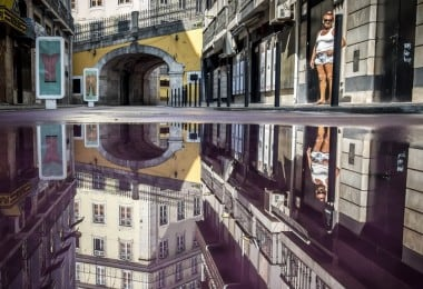 Stunning Puddle Reflections by Daniel Antunes 1