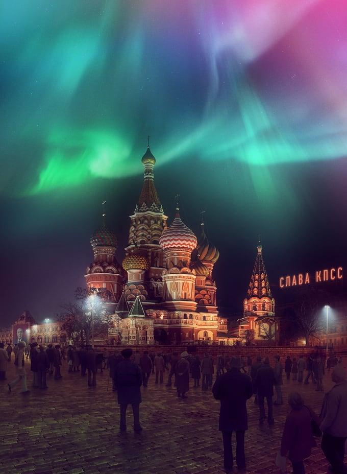 "Illustration Series ""Cataclysm Happens"" by Evgeny Kasantsev 2"