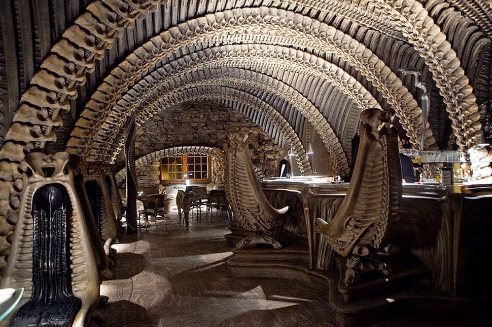 H.R. Giger Alien Bar