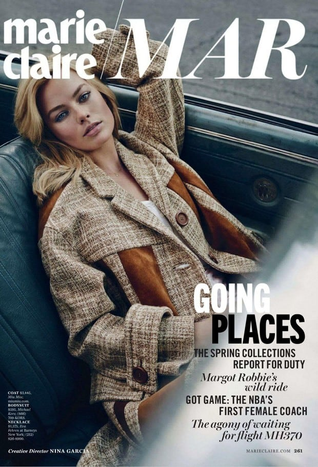 Exclusive Sneak Peek: Margot Robbie Covers Marie Claire March Issue 4