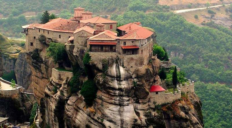 Meteora Greece Top 15 Most Stunning Cliff Side Towns And Villages