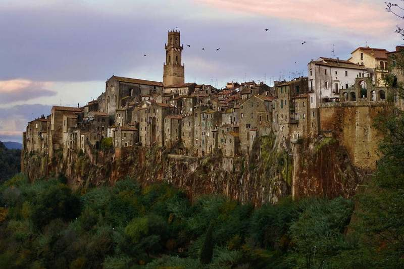 Pitigliano Grosseto Italy Top 15 Most Stunning Cliff Side Towns And Villages