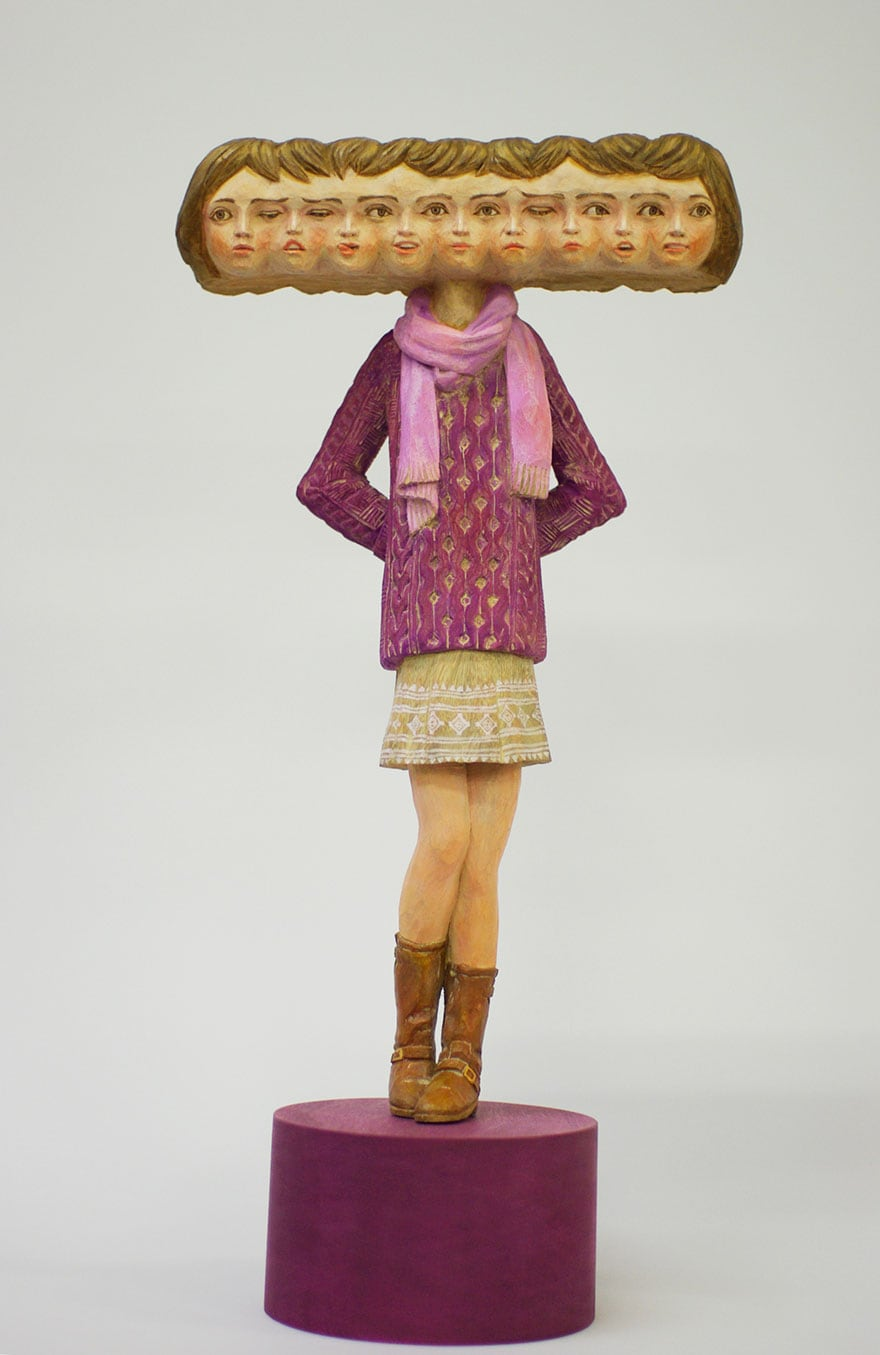 Wood-Sculptures-Of-Bizarrely-Twisted-Characters-By-A-Surreal-Japanese-Artist-13
