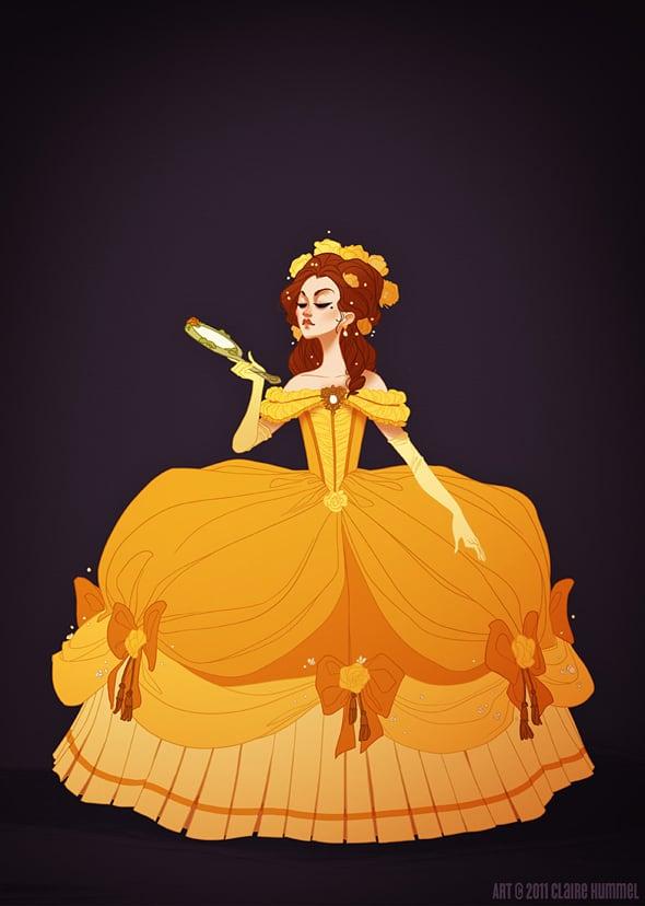 disney-princess-in-accurate-period-clothing-chicquero-fashion-belle