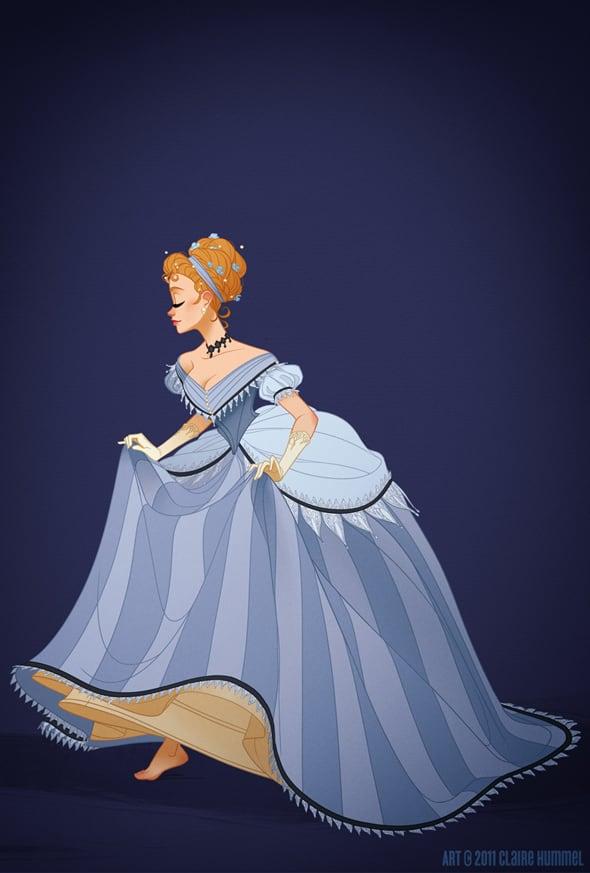 disney-princess-in-accurate-period-clothing-chicquero-fashion-cinderella