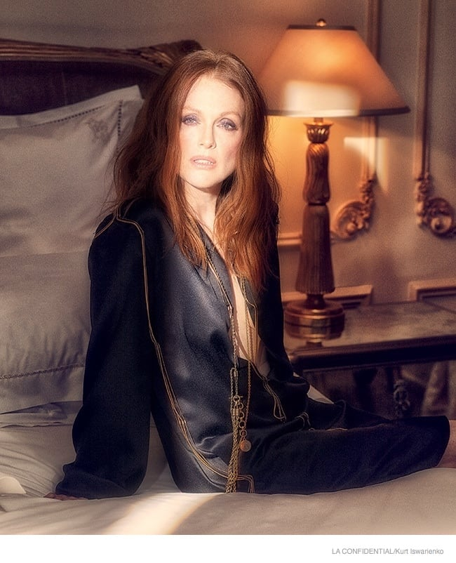 Julianne Moore Covers Los Angeles Confidential magazine 5