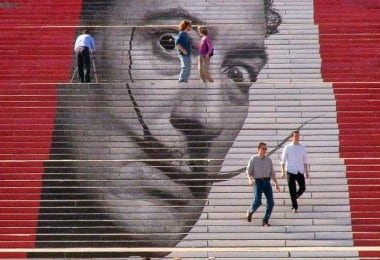 Awesome Street Art: 17 of The Most Wonderful Painted Stairs In The World 10