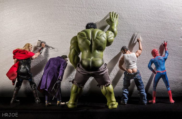 superhero action figure toys photography hrjoe 1 1