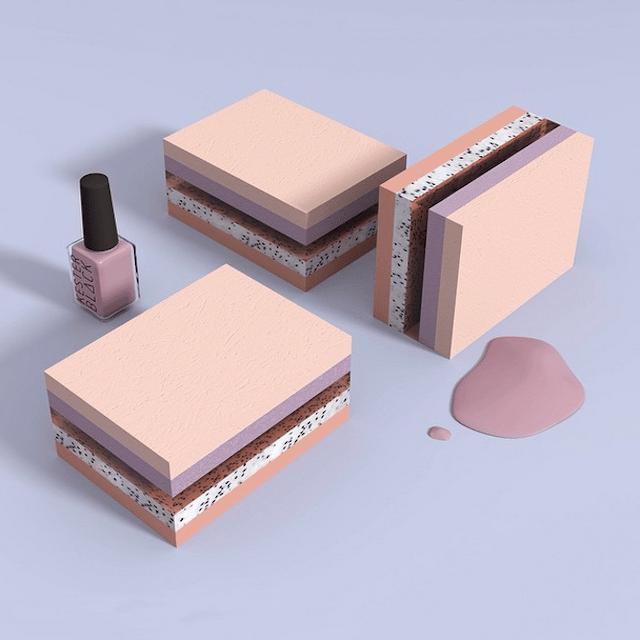 3D-Pastel-Colored-Set-Design-1