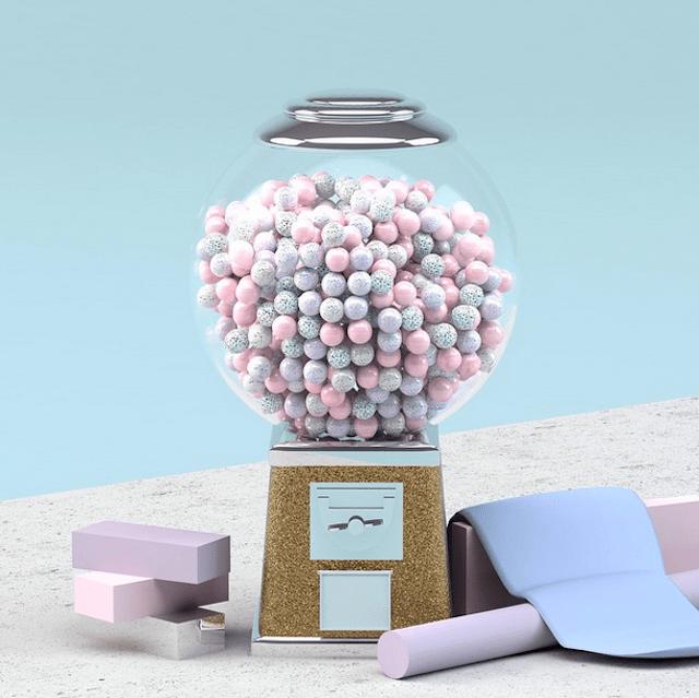 3D-Pastel-Colored-Set-Design-9