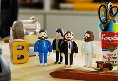 "3D-Printed Dolls Of The Beatles Dressed In Their ""Abbey Road"" Outfits 2"