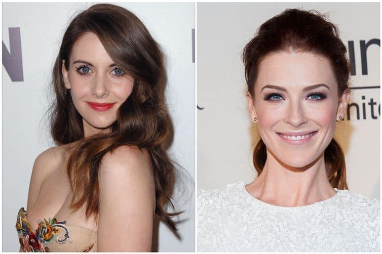 Alison Brie and Bridget Regan 1982 1