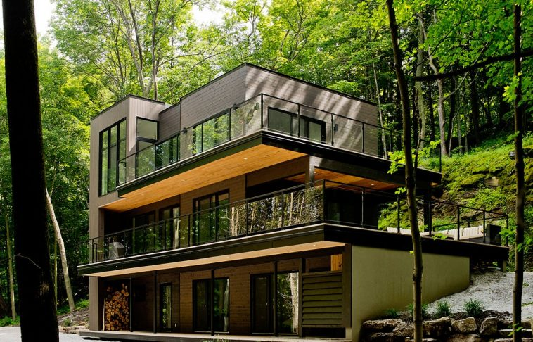Contemporary cottage in Quebec by Boom Town 09 1