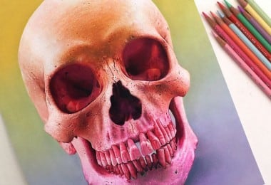 Splendid Realistic Color Pencil Drawings From 22-Year-Old Morgan Davidson 4