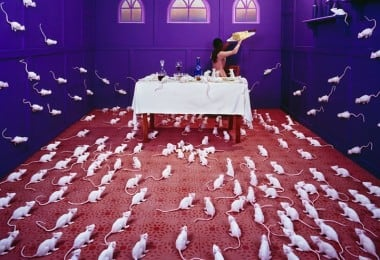 Artist JeeYoung Lee Creates Elaborate Non-Photoshopped Scenes in Her Tiny Studio 13