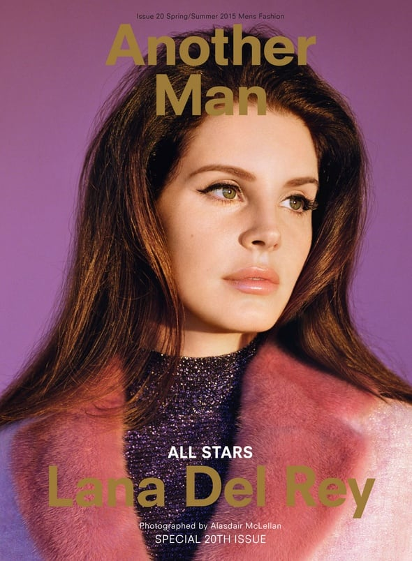 Lana Del Rey Covers The Spring/Summer 2015 Issue Of 'Another Man' 1