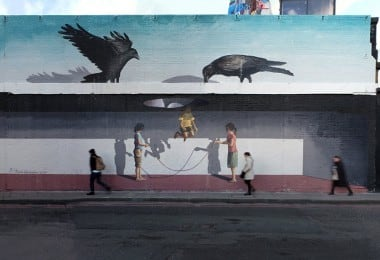 Optical illusion Street Art by Mehdi Ghadyanloo 14