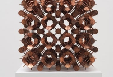 Geometric Sculptures Made Out Of Coins by Robert Wechsler 8