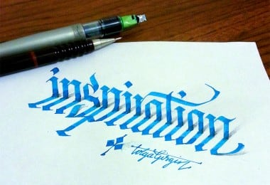 3D Calligraphy Experiments by Tolga Girgin 1