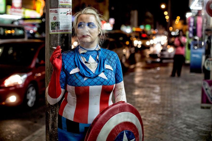 Captain America Female