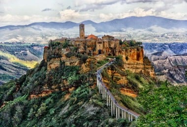 Civita di Bagnoregio: Ancient Endangered Hill Town in Italy 2