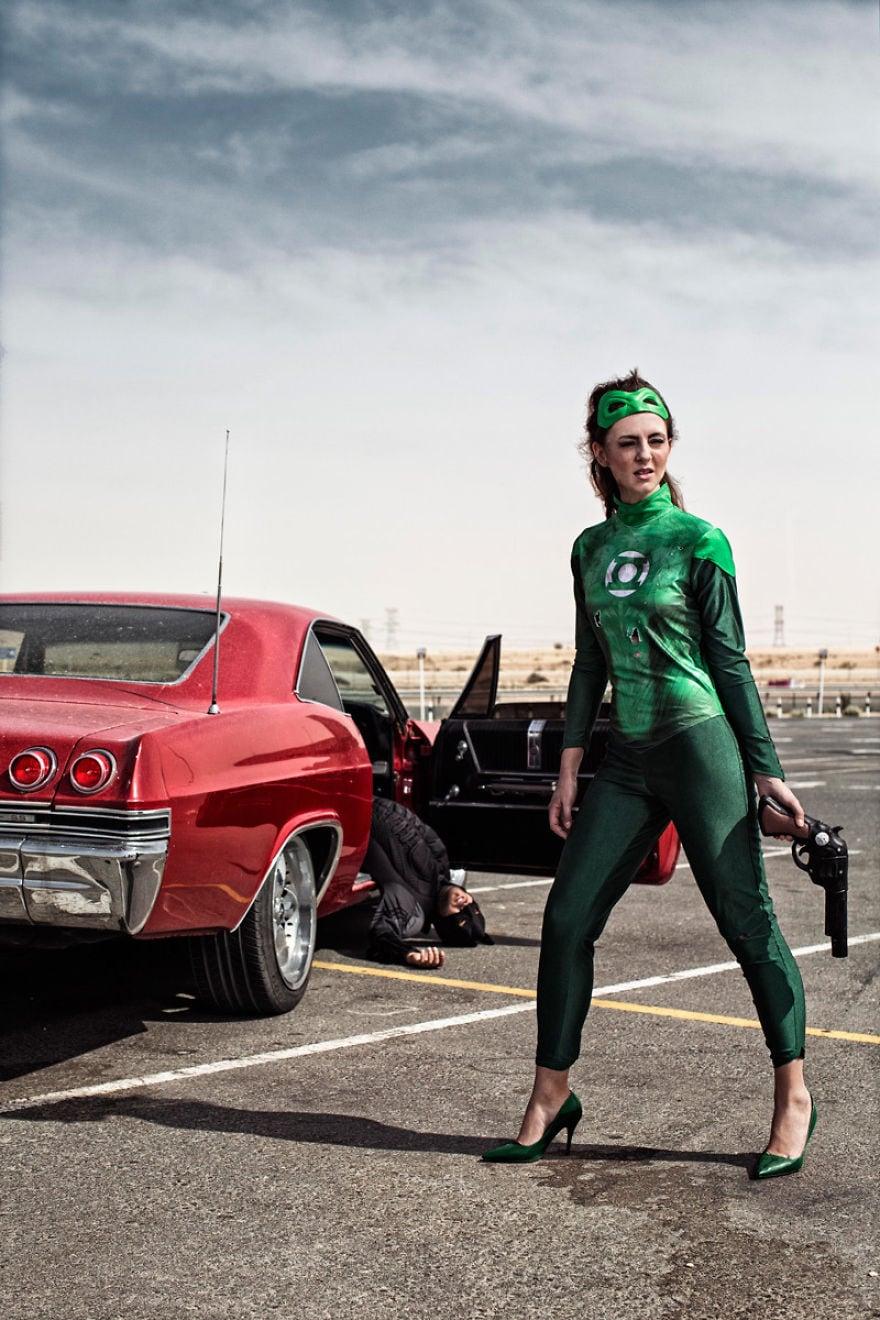 Green Lantern Female