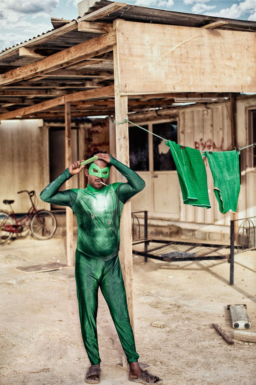 Green Lantern Male