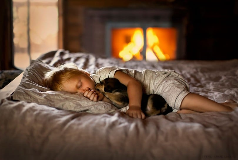Russian Photographer Takes Marvelous Photos of Her Kids With Animals 20