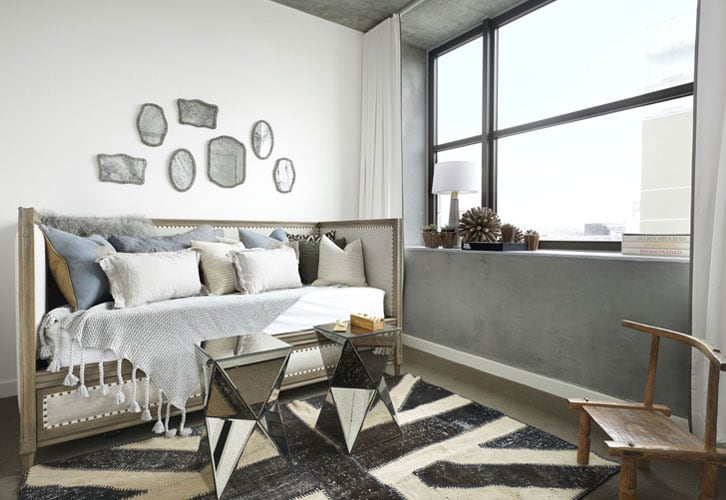 The Bond eclectic mix of modern and vintage - Parisa O'Connell - HomeWorldDesign  (6)