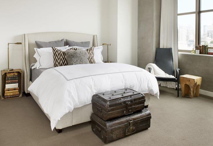 The Bond eclectic mix of modern and vintage - Parisa O'Connell - HomeWorldDesign  (8)