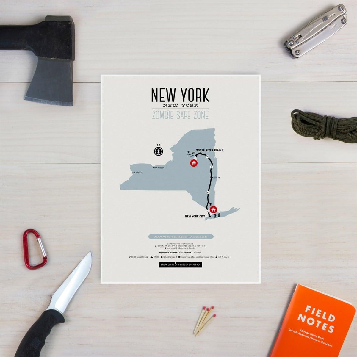 Newyork Zombie Safe Zone