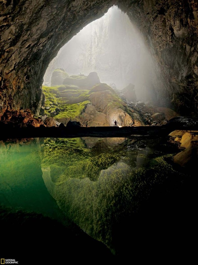 Source: National Geographic {link: http://ngm.nationalgeographic.com/2011/01/largest-cave/peter-photography}