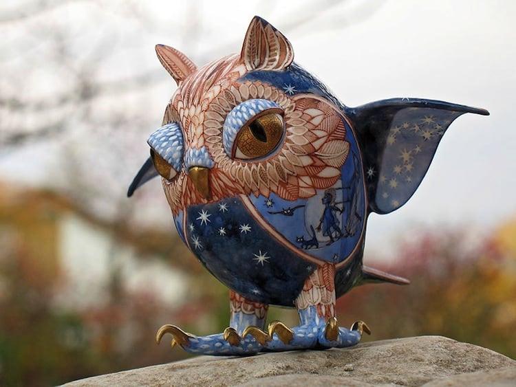 porcelain-owl